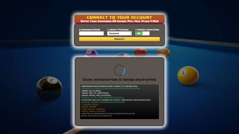 8 Ball Pool hack cash