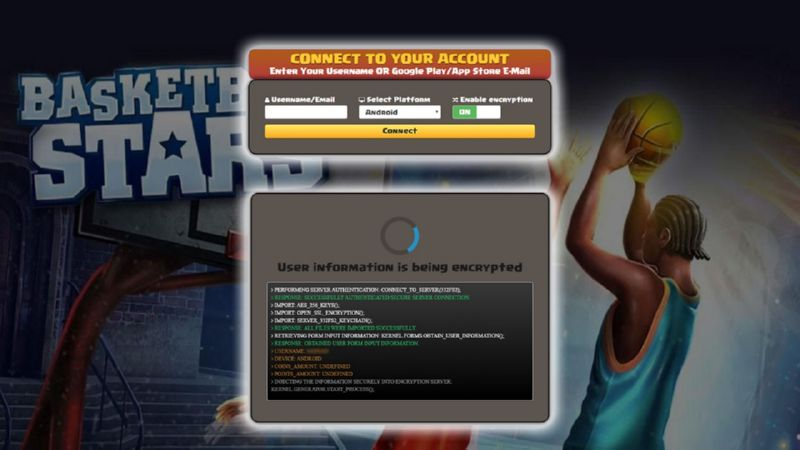 Basketball Stars hack cash