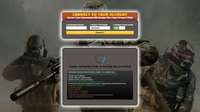 Call Of Duty Mobile hack credits
