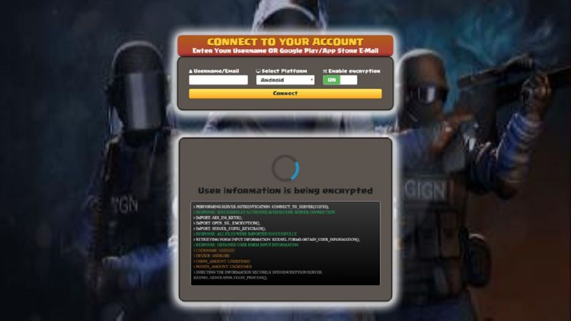 Critical Ops hack orange credits