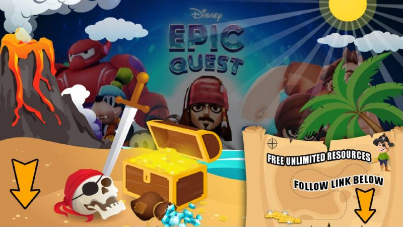 Disney Epic Quest hack tool 2019