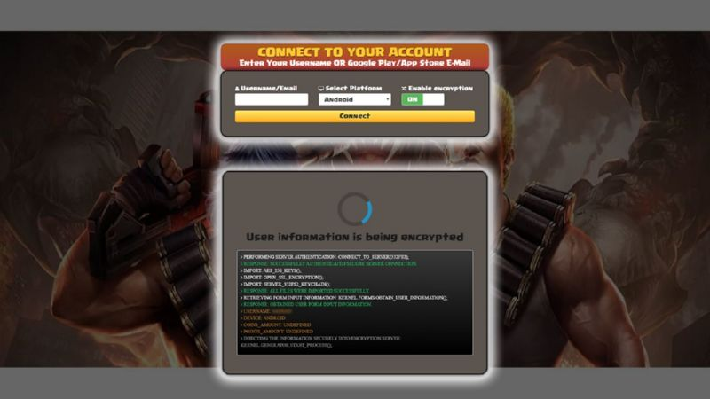 Garena Contra Return hack diamonds