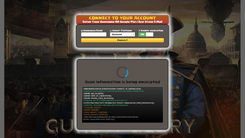 Guns Of Glory hack gold