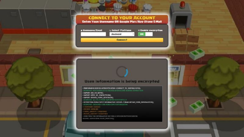 Idle Cooking Tycoon hack gems