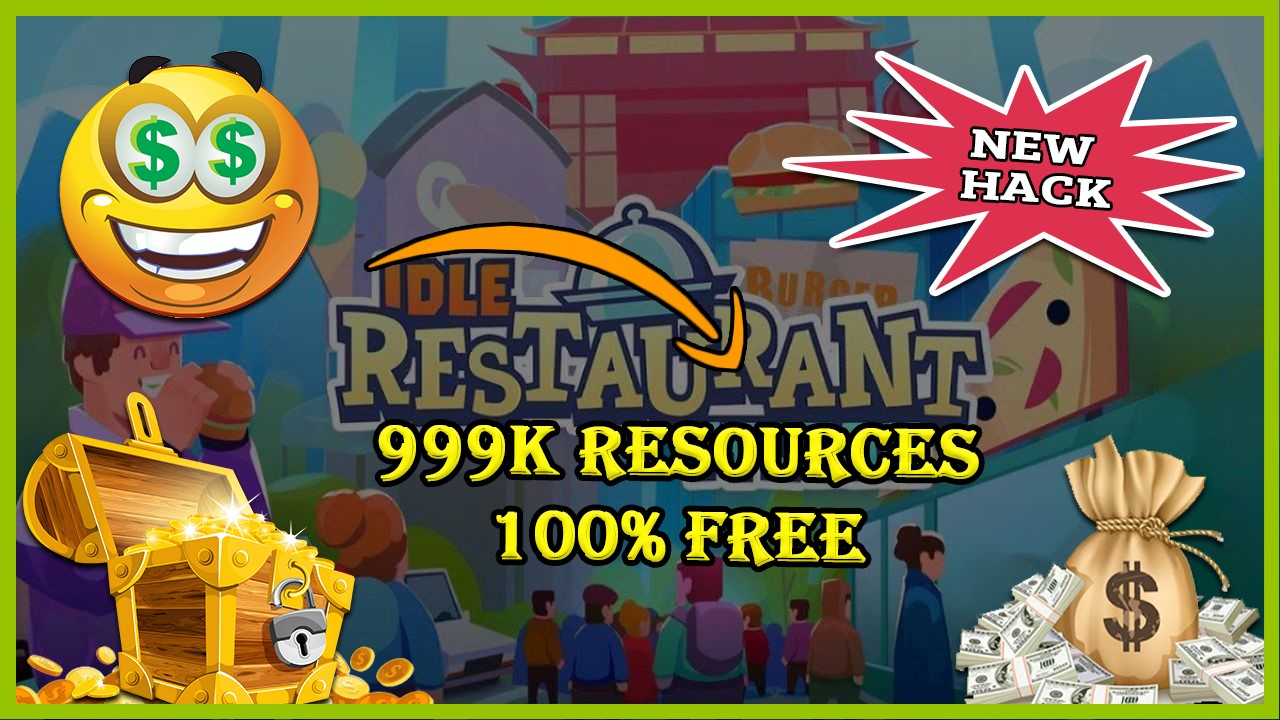 Idle Restaurant Tycoon hack 2020