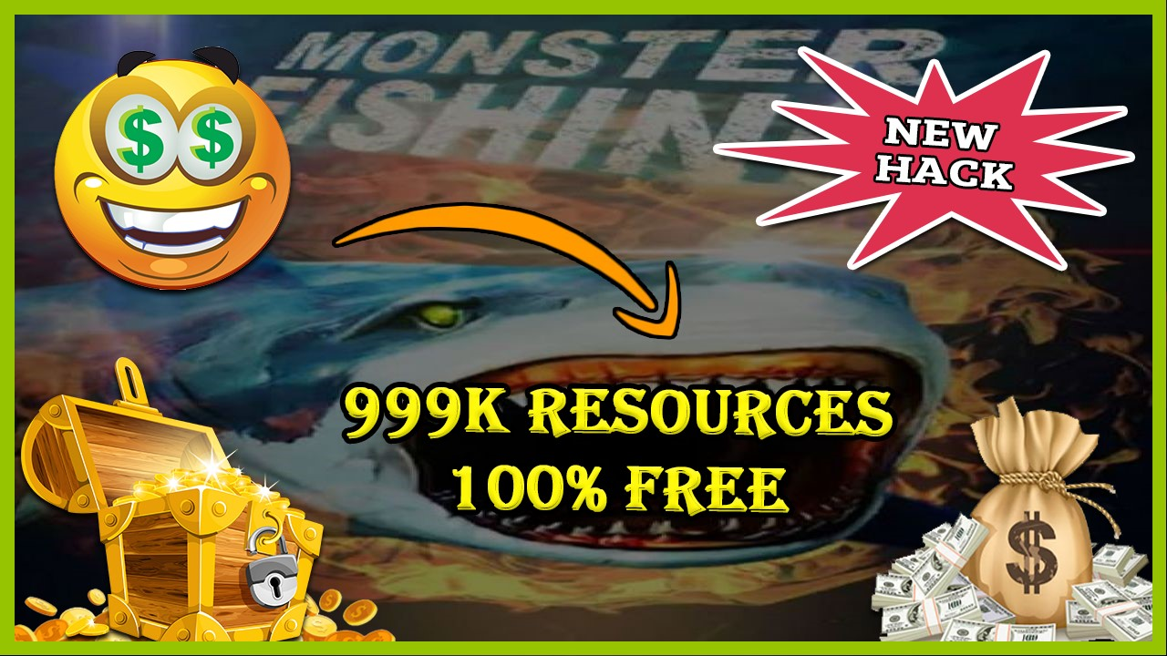 Monster Fishing 2018 hack 2020
