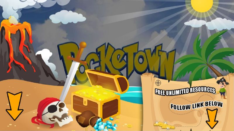 Pocketown Legendary hack tool 2019