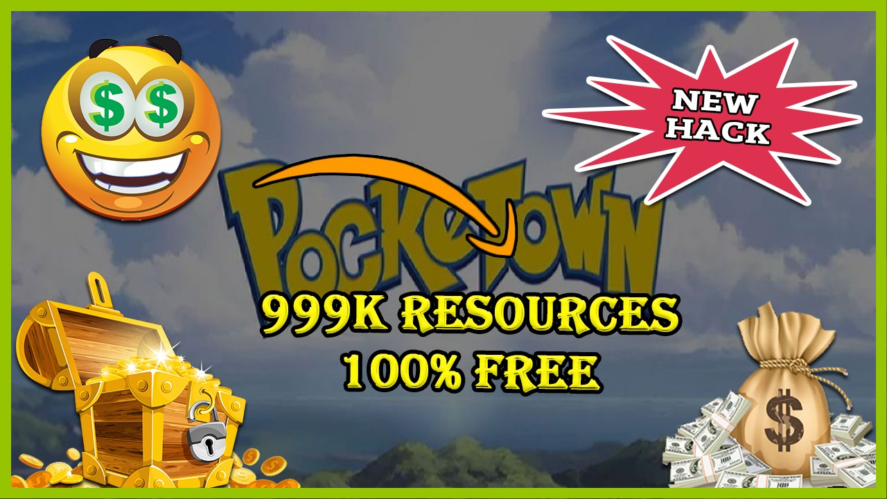 Pocketown Legendary hack 2019