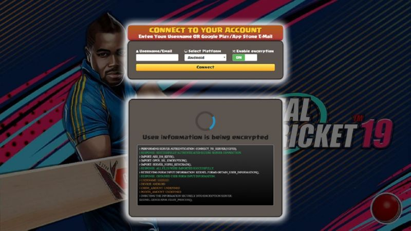 Real Cricket 19 hack coins