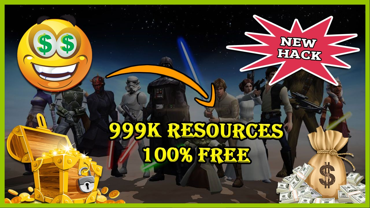 Star Wars Galaxy Of Heroes hack 2020