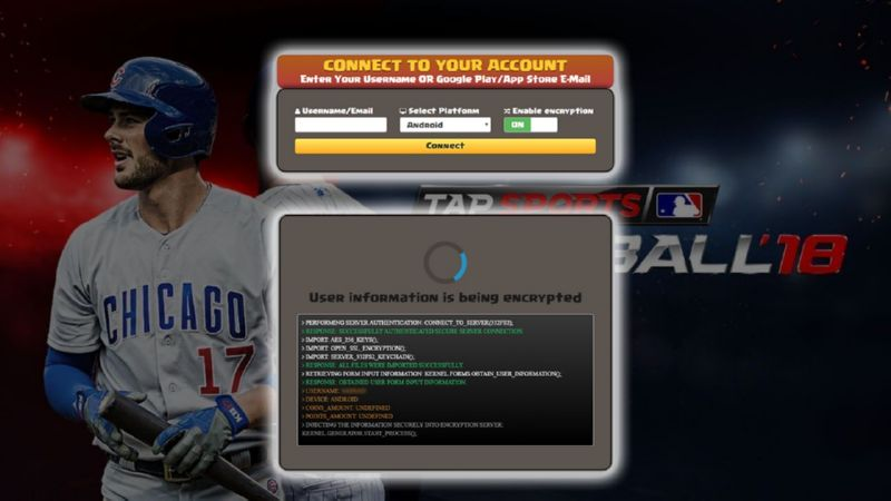 Tap Sports Baseball 2018 hack cash
