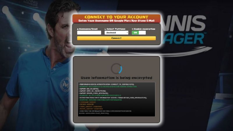 Tennis Manager 2018 hack money